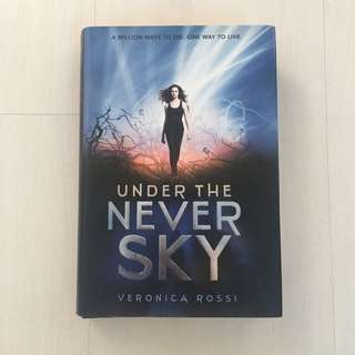 SIGNED: UNDER THE NEVER SKY