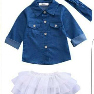 2 Pcs Girls Set