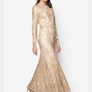 Zalia Sequin Mermaid Dress