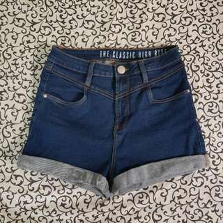 Cotton On Classic High Rise Shorts US 8