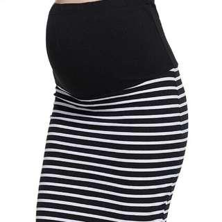 Maternity Pencil Bandage Cotton Skirt