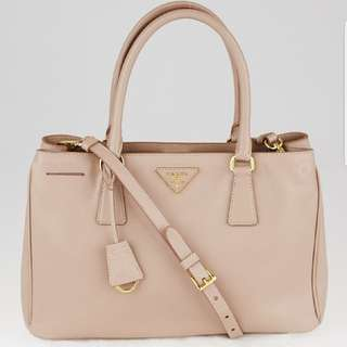 PRADA Cammeo Saffiano Leather Bag