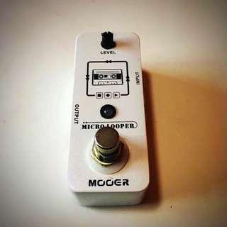 Mooer Micro Looper Loop Pedal