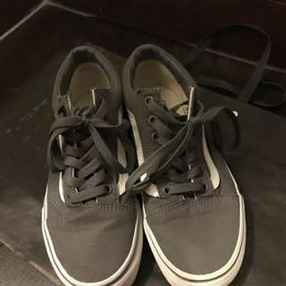 Vans Old Skool Grey White Shoes