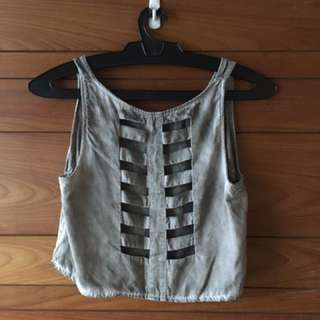Brandy Melville Caged Top