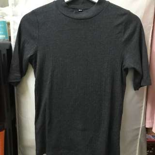 Uniqlo High Neck Tee