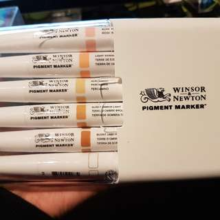 Winsor Newton Pigment Markers