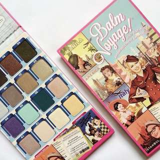 The Balm Voyage Holiday Palette