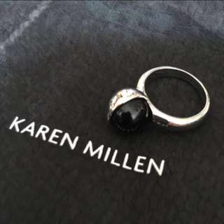 (NEW) Karen Mullen Half Moon Ring