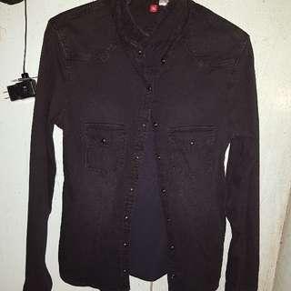 Black Polo Long Sleeve