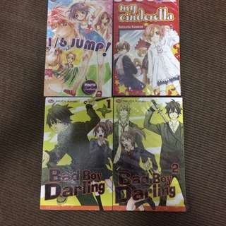 [NEW] KOMIK BAD BOY DARLING 1-2, 1/6 Jump, dan My Cinderella