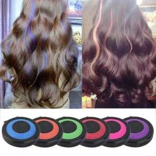Artificial hair color (Temporary hair chalk)