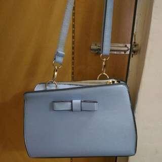 藍色斜孭袋