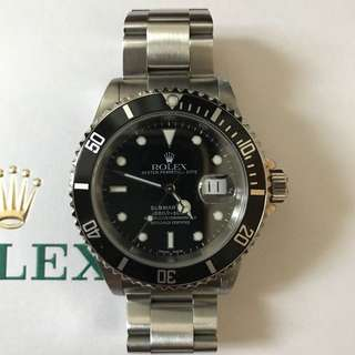 WTS Rolex Submariner 16610