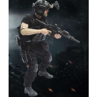 1/6 Scale- US Navy Seal Night Vision Team member Clothing Set only