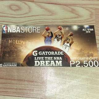 NBA Store GC