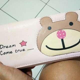 Dompet cewek teddy bear