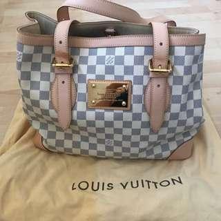 Louis Vuitton Hampstead Mm Damier AZur
