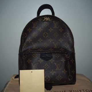 (REDUCED) LOUIS VUITTON PALM SPRING BACKPACK