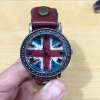 復古 造型 英國風 手錶