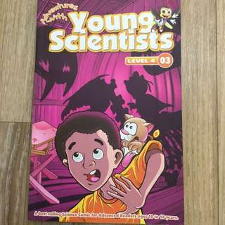 Young Scientists Science Adventures Science Comics
