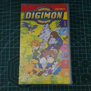 Digimon VHS Tape Volume 8