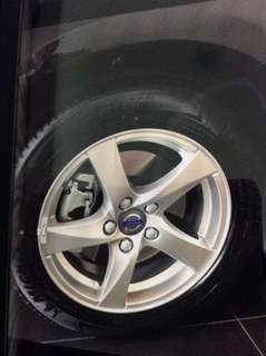 "Original Volvo OEM 16"" Rims with Michelin Tyres"