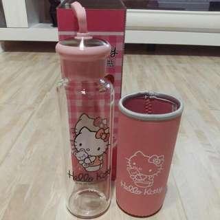 🚚 Hello Kitty耐熱玻璃水瓶