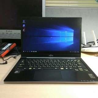 超輕薄》免運Fujitsu U772輕薄遊戲繪圖筆記型電腦 i5-3427/4G/250G+32G SSD可升8G升固態