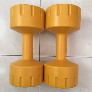 Body Sculpture Vinyl Dumbbell Set