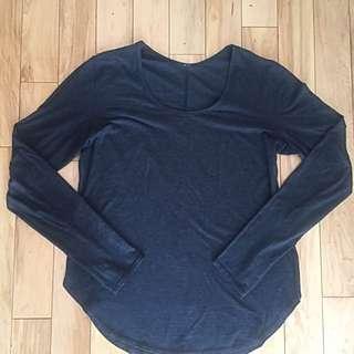 Lululemon Prima Cotton Long Sleeve Size 6