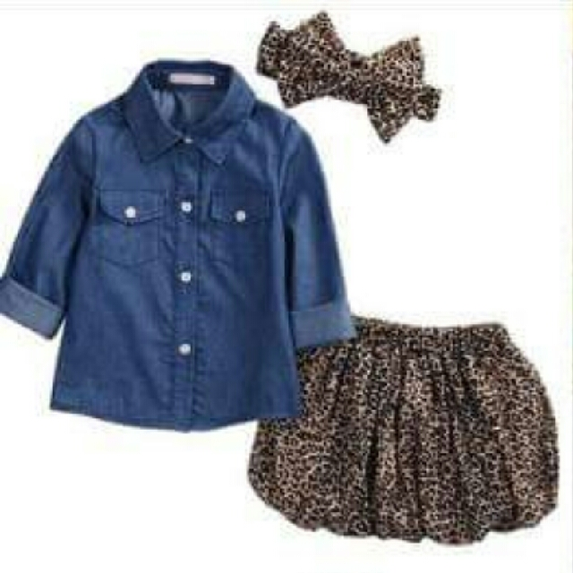 3pcs Girls Outfit
