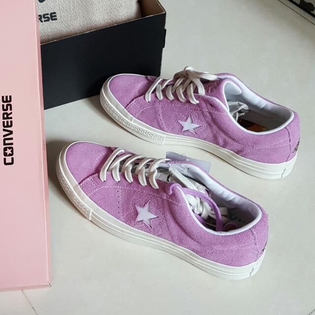 Golf Le Fleur X Converse one star 紫色 24cm