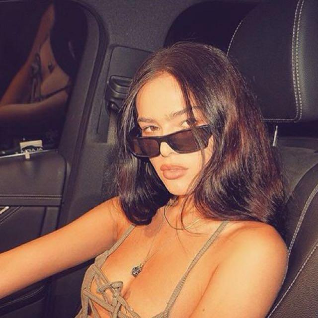 Aaliyah Black Glasses