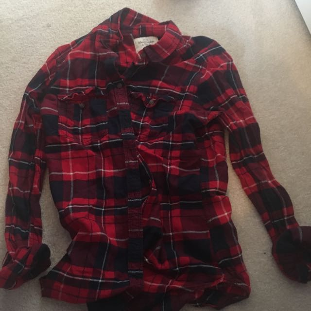 Abercrombie & Finch Red Flannel