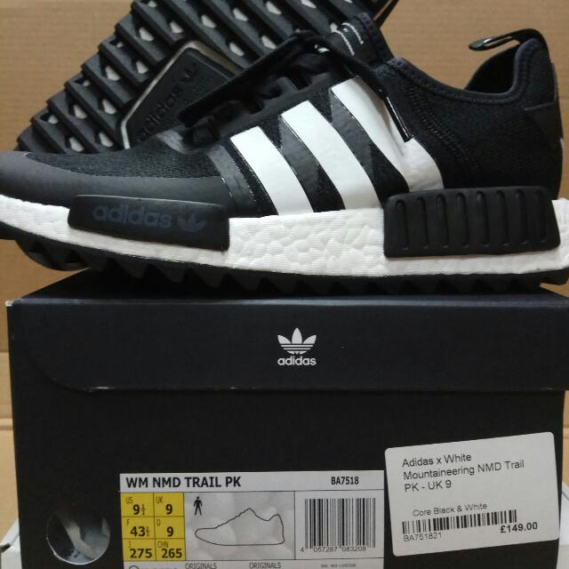 differently 50501 70a7c adidas NMD X White Mountaineering NMD Trail PK, Colour : Core Black / White  BA7518