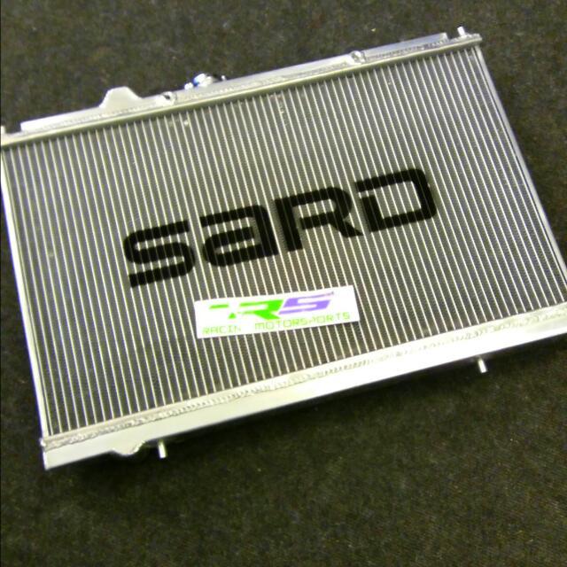 Alum RADIATOR WIRA 1 6 1 8 4G63 SOHC DOHC