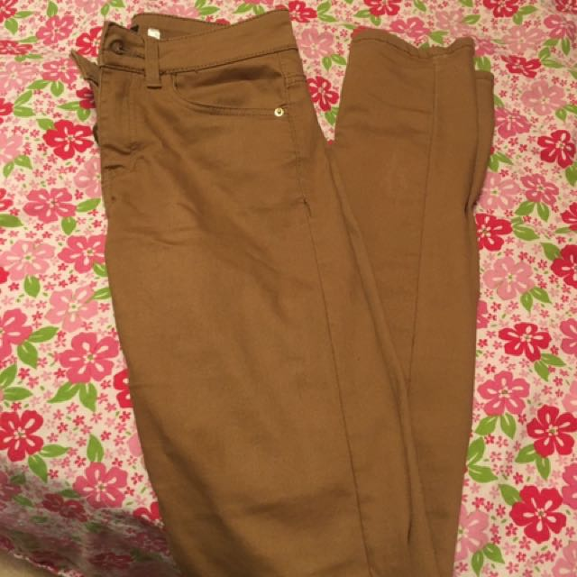 Amber Brown Jeans