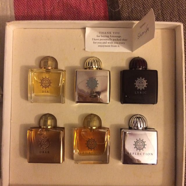 Amouage Woman Miniature Set