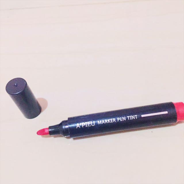 Apieu Marker Pen Tint RD01 Lazy Red