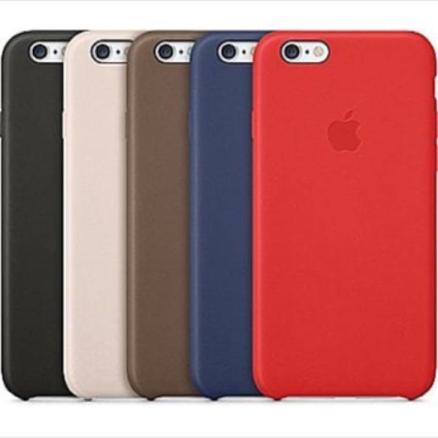 APPLE Leather case Iphone 6/6s Look - Alike