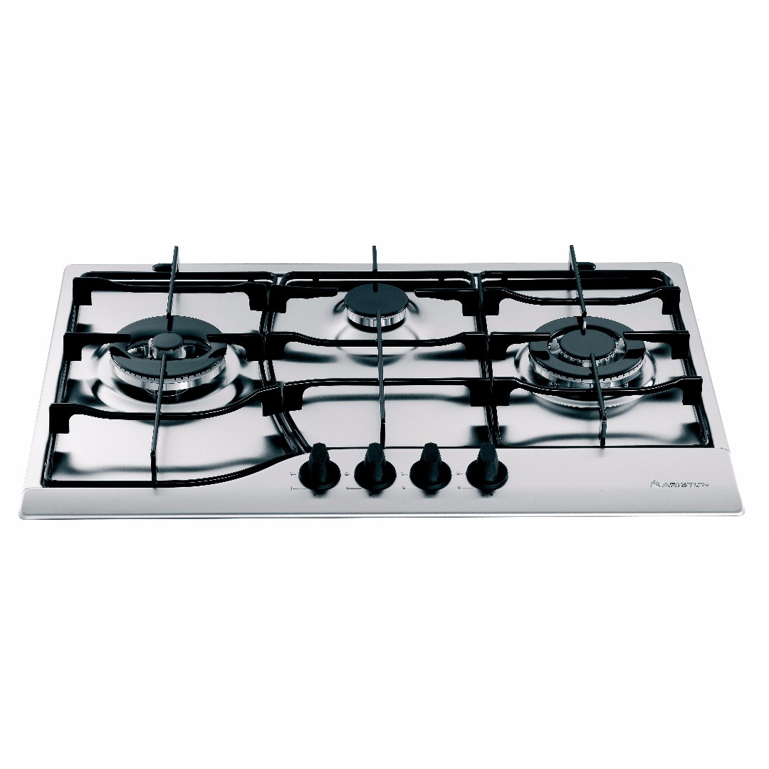 Ariston 75 CM 3 Burner Stainless Steel Gas Hob, Home Appliances on ...