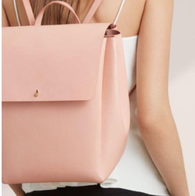 Aritzia Auxilary De Bray Leather Backpack