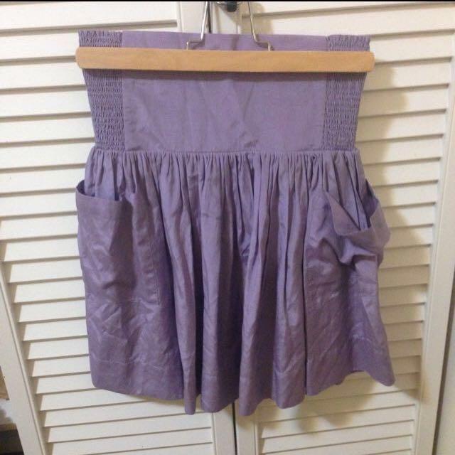 Aritzia Talula Purple Skirt