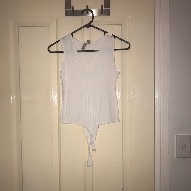 ASOS White Bodysuit