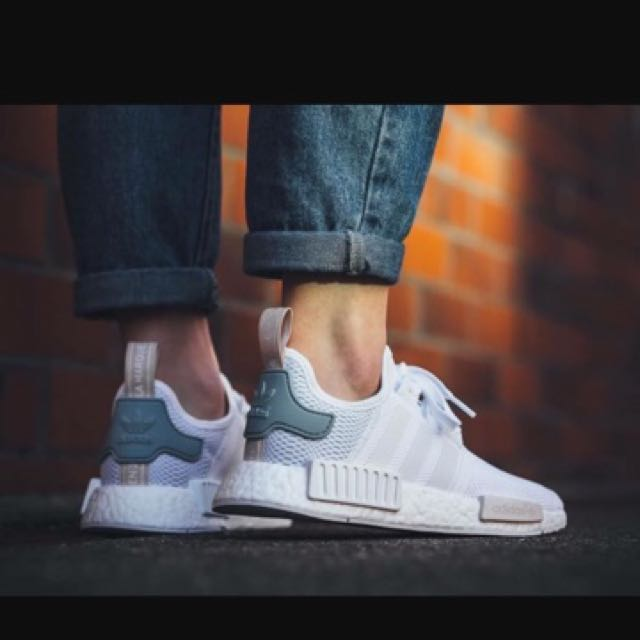 AUTHENTIC NMD R1 TACTILE GREEN, Women's