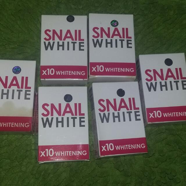 Authentic Snail White Soap