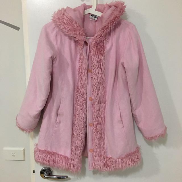 Baby Pink Penny Lane Style Jacket