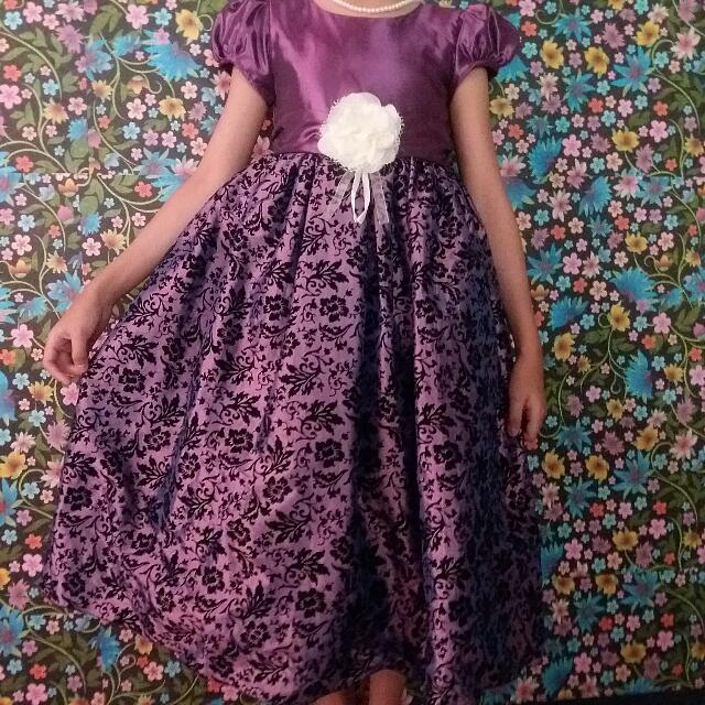 Baloon dress Anak