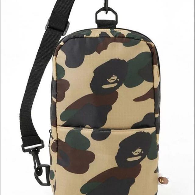 Bape Shoulder Side Bag